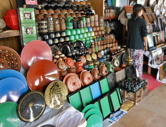 bagan lacquer ware