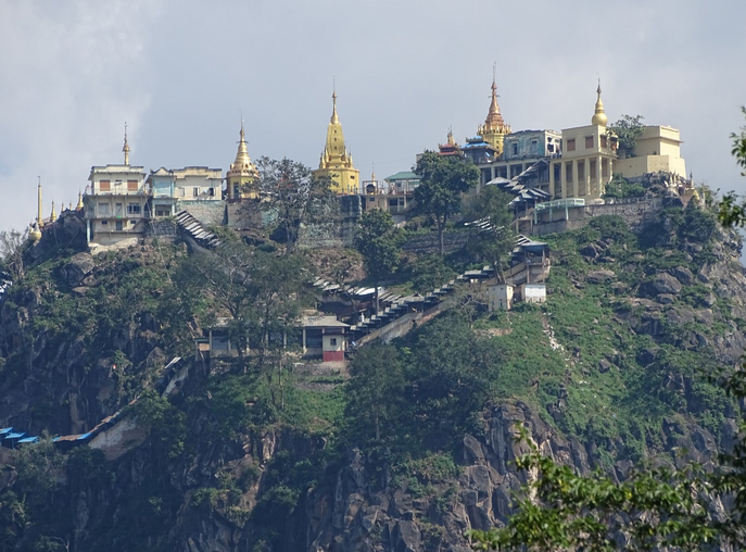 myanmar popa mountain
